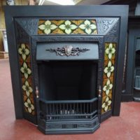 Victorian Tiled Insert inc tiles - 1703TI - The Antique Fireplace Company