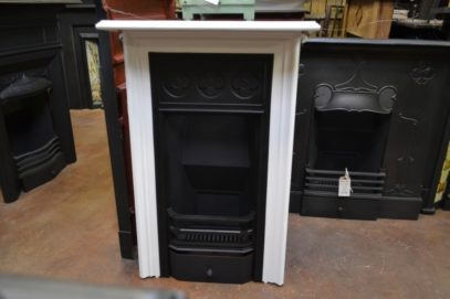Antique Victorian Cast Iron Fireplace 1943MC Old Fireplaces