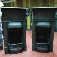 Edwardian Cast Iron Bedroom Fireplace 1772B Antique Fireplace Company