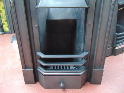 Original Edwardian Cast Iron Bedroom Fireplace 1742B Antique Fireplace Company.