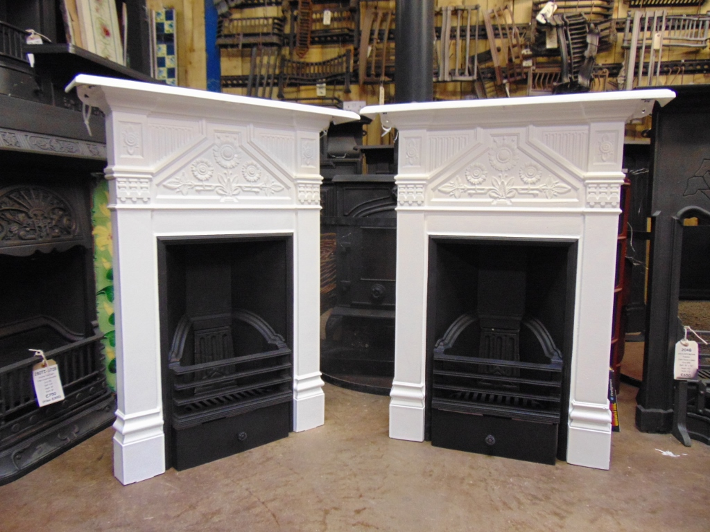 Victorian Daisy Bedroom Fireplaces 115b 1782 Old