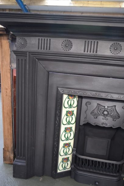 Victorian Cast Iron Fire Surrounds 1798CS - Oldfireplaces