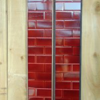 Deep Red_Brickette_Tiles_E030