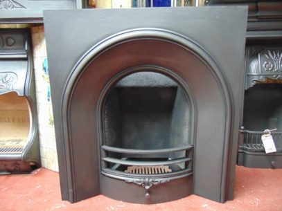 Early Victorian Arched Insert - 1803AI - The Antique Fireplace Company