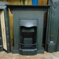 Original Cast Iron Edwardian Bedroom Fireplace 1818B Old Fireplaces.