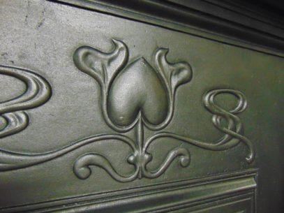 198LC_1828_Arts_&_Crafts/Art_Nouveau_Fireplace