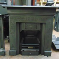 Victorian Cast Iron Fireplace - 1817LC - The Antique Fireplace Company