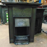 046MC_1830_Art_Nouveau_Cast_Iron_Fireplace