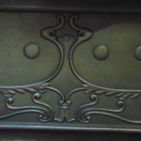 046MC_1830_Art_Nouveau_Cast_Iron_Fireplace