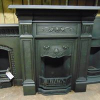 211LC_1841_Art_Nouveau_Cast_Iron_Fireplace