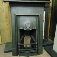 Edwardian Art Nouveau Bedroom Fireplace 1847B Oldfireplaces