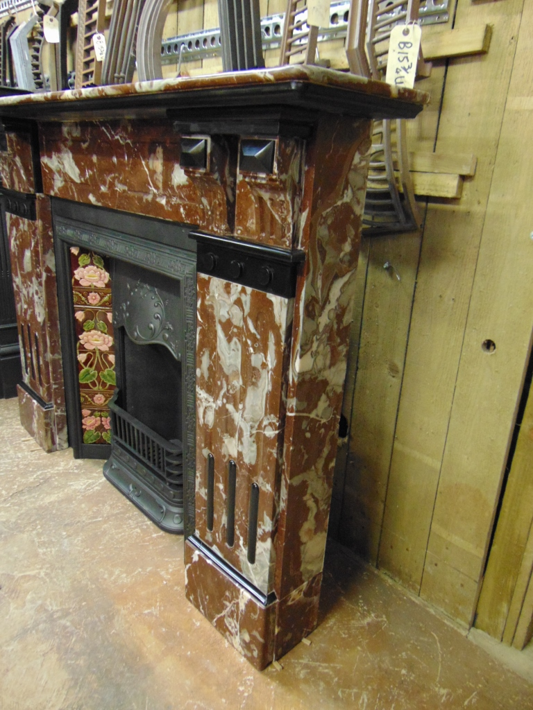 Antique Marble Fireplace 1878ms Old Fireplaces