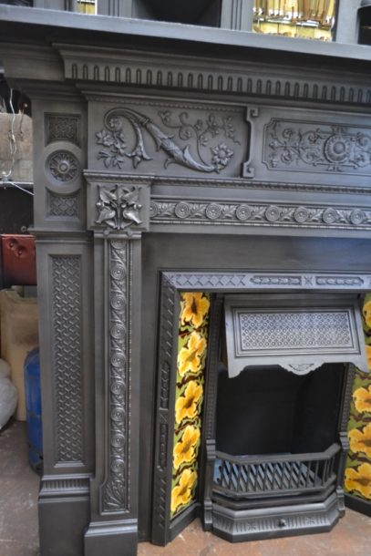 VictorianCast Iron Fireplace Surround 1872CSAntique Fireplace Company.