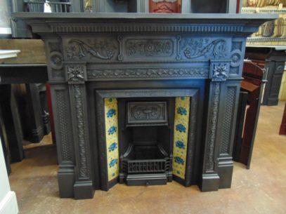 198CS_1872_Victorian_Cast_Iron_Fireplace_Surround