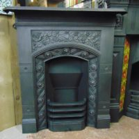 090MC_1891_Antique_Victorian_Arts_&_Crafts_Fireplace