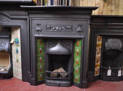 Art_Nouveau_Tiled_Fireplace_185TC-1927