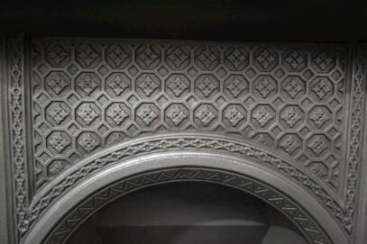 Victorian Arched Tiled Insert 1906TI - Oldfireplaces