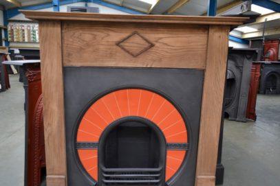 1930s Oak Fireplace Surround 1908WS - Antique Fireplace Co