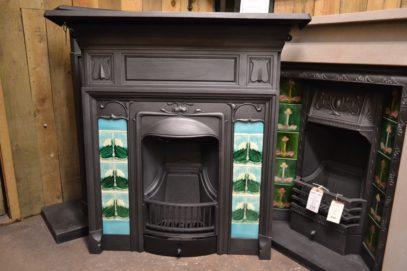 265TC_1914_Original_Art_Nouveau_Tiled_Combination_Fireplace