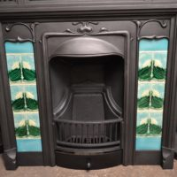 265TC_1914_Original_Art_Nouveau_Tiled_Combination_Fireplace