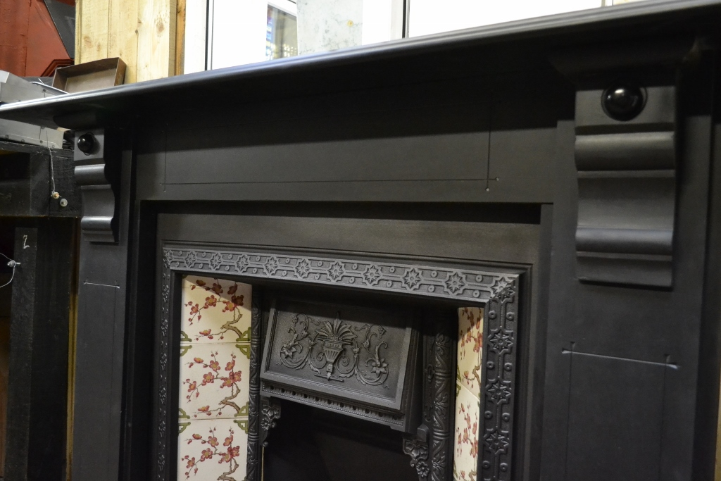 Victorian Slate Fire Surround 1909ss Old Fireplaces
