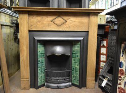 271WS_1908_1920/1930's_Oak Fireplace