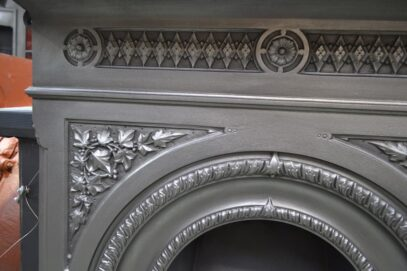 Victorian Fireplace Ivy Detail 4134MC - Oldfireplaces