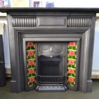 Late Victorian Cast Iron Fire Surround - 4150CS