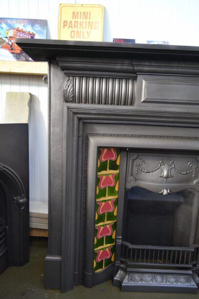 Late Victorian Cast Iron Fire Surround - 4150CS