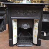 Edwardian Tiled Combination Fireplace 1777TC Old Fireplaces