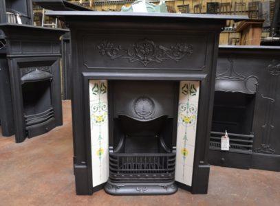 Edwardian Tiled Combination Fireplace 1777TC Old Fireplaces