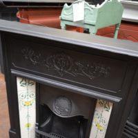Edwardian Tiled CombinationFireplace 1777TC Old fireplaces.