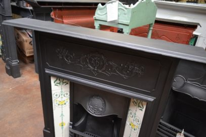 Edwardian Tiled CombinationFireplace 1777TC Old fireplaces.