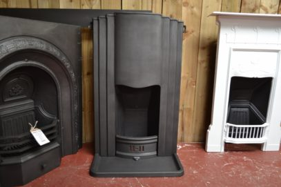 Art Deco Cast Iron Bedroom Fireplace 1944B Antique Fireplace Company