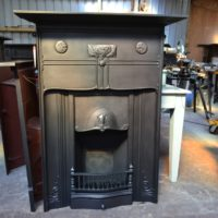 Arts and Crafts Fireplace - William De Morgan 3060MC