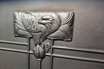 Arts and Crafts Fireplace - William De Morgan 3060MC