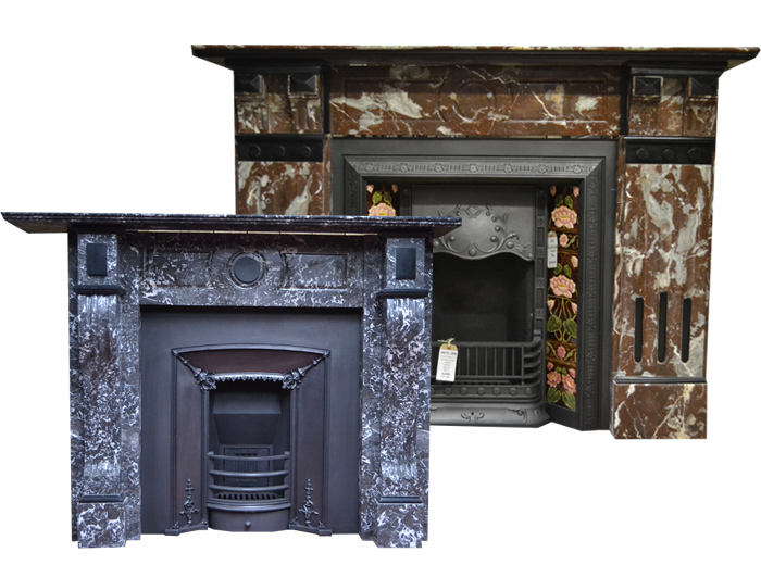 Antique Marble Fireplaces Surrounds
