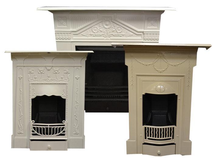 Antique Painted Fireplaces