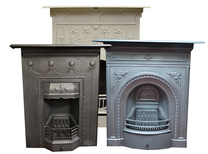 Medium Combination Antique Fireplaces