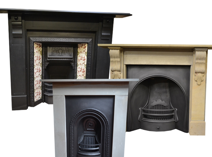 Antique Fireplaces Cast Iron & Victorian Fireplace Surrounds