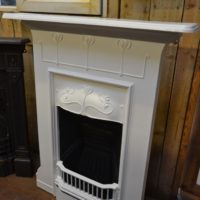 Painted Tulip Antique Fireplace 1601MC - The Antique Fireplace Company