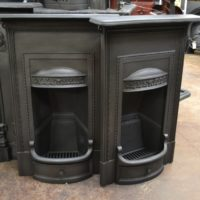 Edwardian Cast Iron Bedroom Fireplaces 1957B