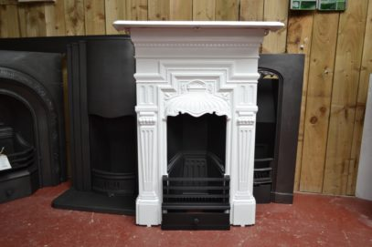 Victorian Painted Bedroom Fireplace 1959B - The Antique Fireplace Company