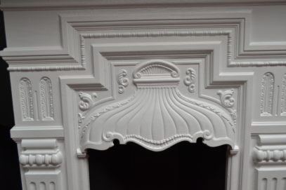 Victorian Painted Bedroom Fireplace 1959B- The Antique Fireplace Company