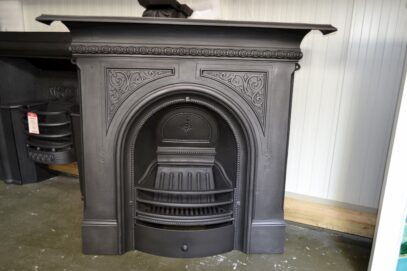 Antique Victorian Fireplace 4076LC - Oldfireplaces