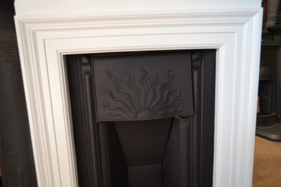 Original Arts and Crafts Fireplace 1971LC - Oldfireplaces