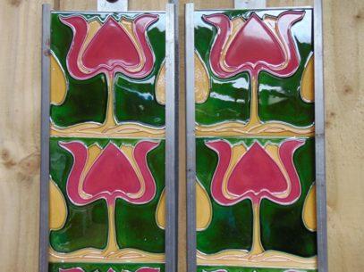 Art Nouveau Style Antique Fireplace Company R010 Antique Fireplace Company