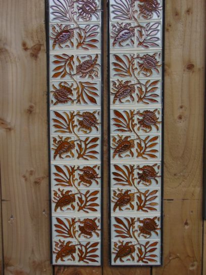 Reproduction Fireplace Tiles R027 Oldfireplaces