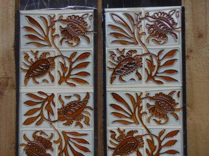 Reproduction Fireplace Tiles R027