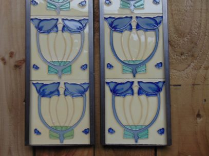 Reproduction Fireplace Tiles R039